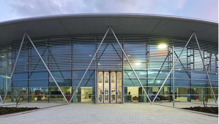 The Advanced Manufacturing Research Centre, Sheffield.